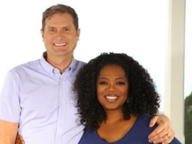 Rob Bell and Oprah Winfrey