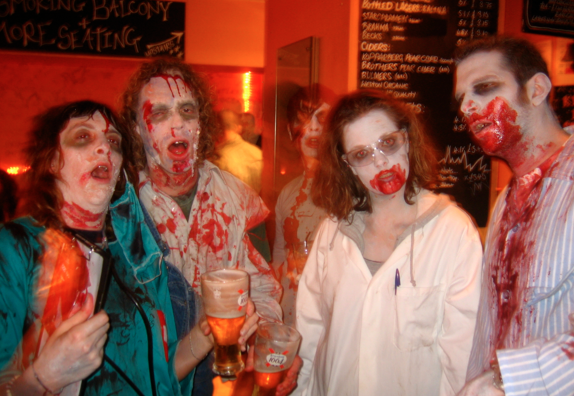 Zombie costumes continue as the No. 1 choice for Halloween events