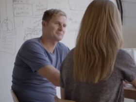 "Rob Bell and wife Kristin promote ""Zimzun of Love"""
