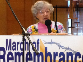 Anita Dittman speaks about her life in one of Nazi Germany's concentration camps. She grew up in Germany and was almost 6 years old when Hitler came to power.