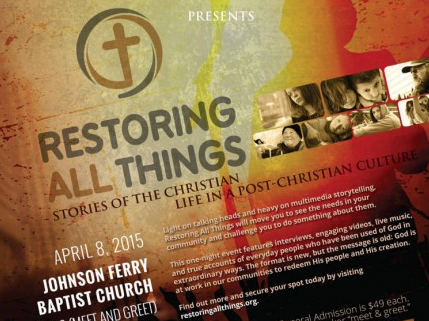 Restoring All Things