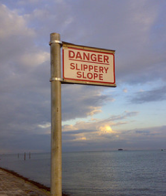 Slippery Slope - free photo