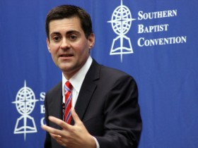 Russell Moore, president of the Ethics & Religious Liberty Commission of the Southern Baptist Convention