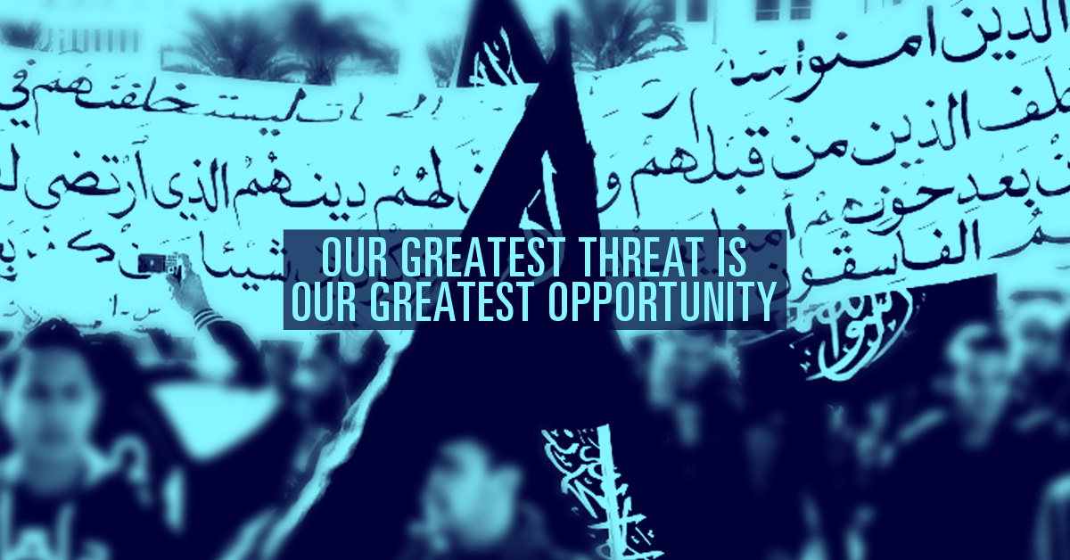 Our Greatest Threat Is Our Greatest Opportunity