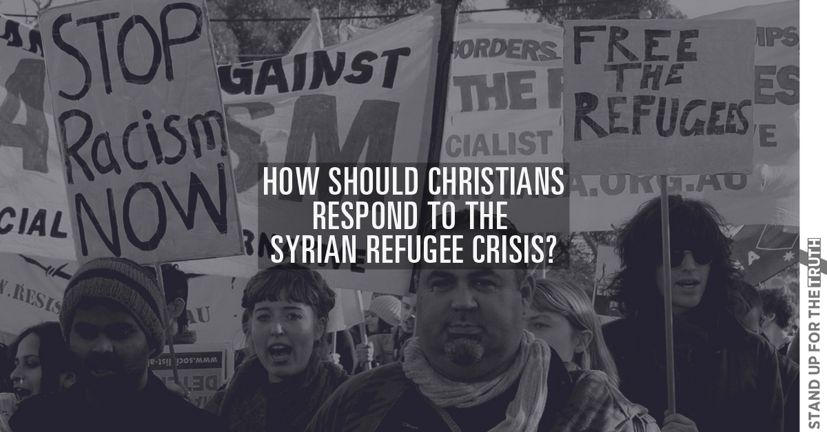 How Should Christians Respond to Syrian Refugee Crisis?