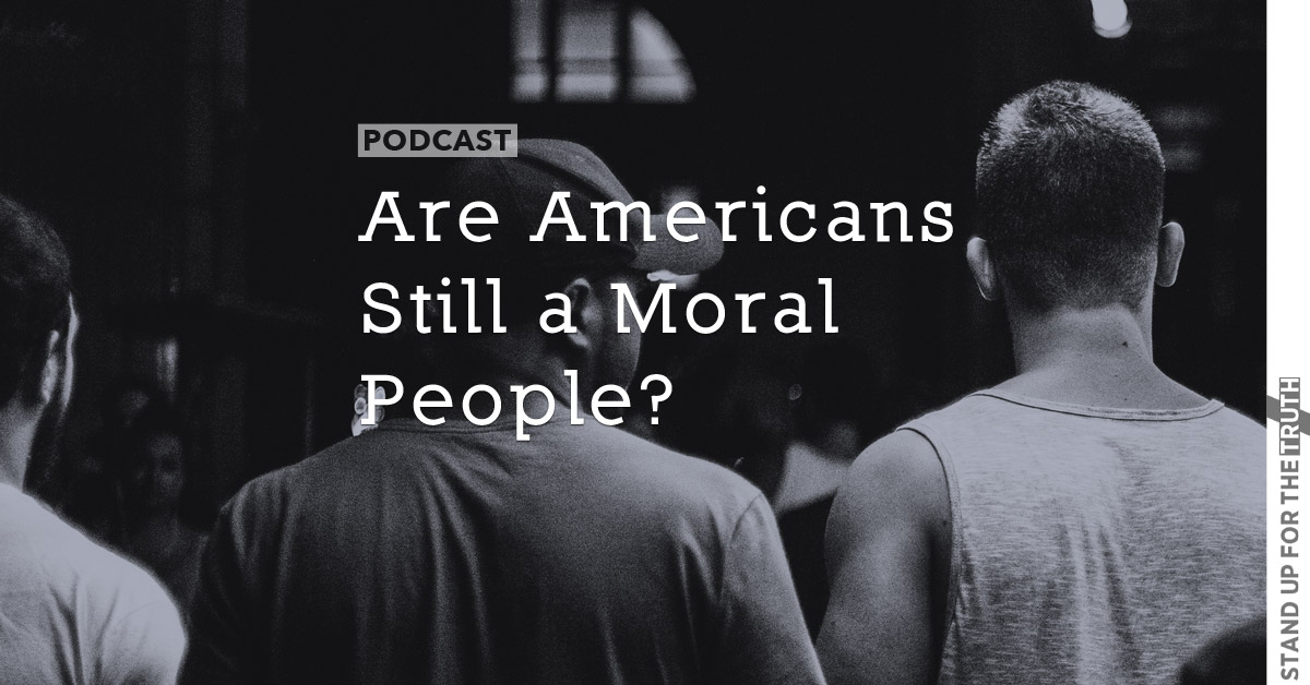 Are Americans Still a Moral People?