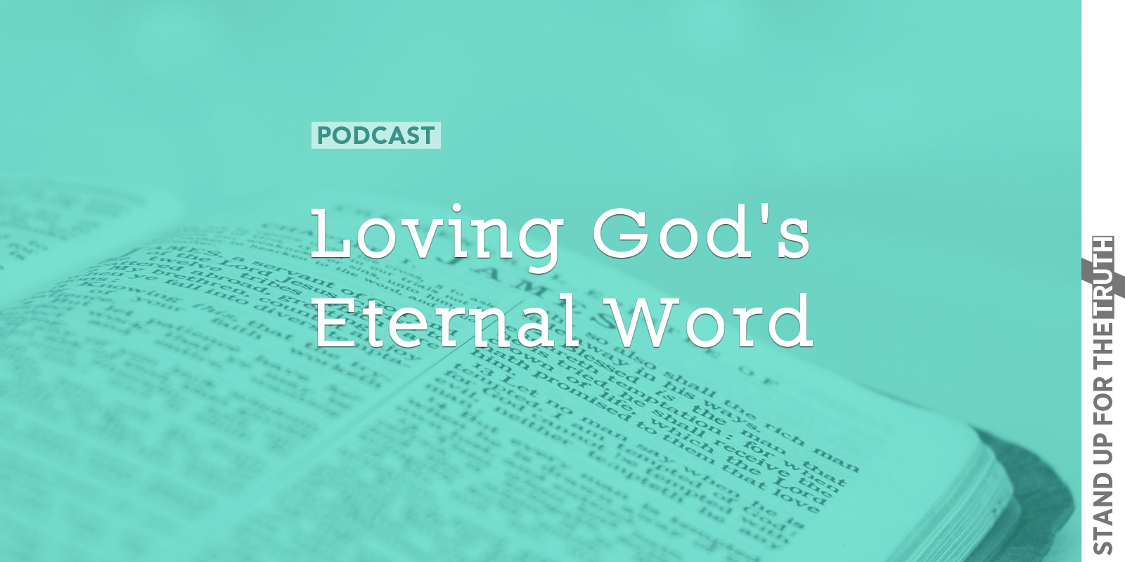 Loving God's Eternal Word