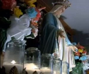 Mary 3 shrine