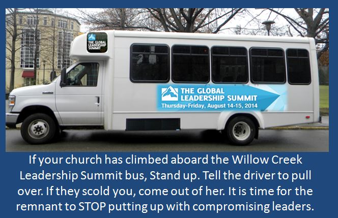 Willow Creek Global Leadership Summit Bus