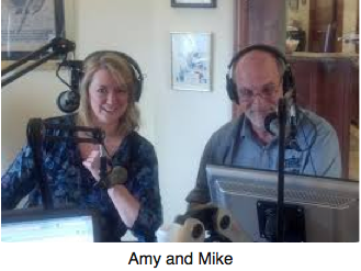 Amy and Mike about the show