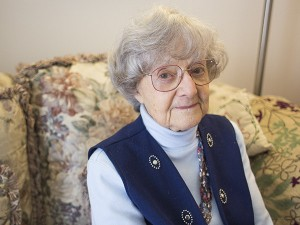 Anita Dittman came to the U.S. with her mother as refugees in 1946 after enduring 13 years of persecution under Adolf Hitler and his Nazi regime. Colleen Harrison/Albert Lea Tribune