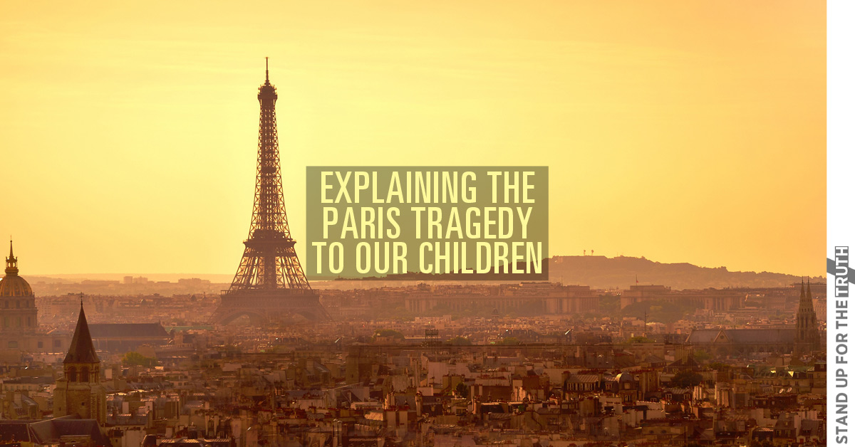 Explaining the Paris Tragedy to our Children