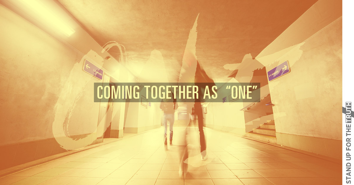 "Coming Together as ""One"""