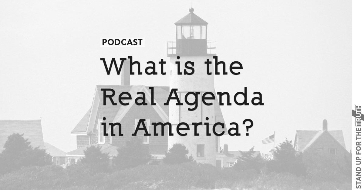 What is the Real Agenda in America?