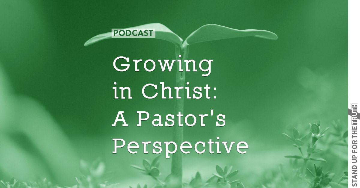Growing in Christ: a Pastor's Perspective