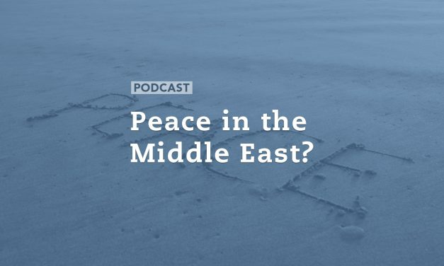 Peace in the Middle East?