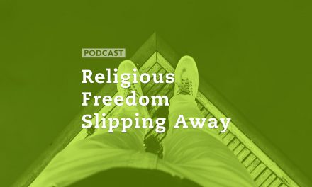Religious Freedom Slipping Away