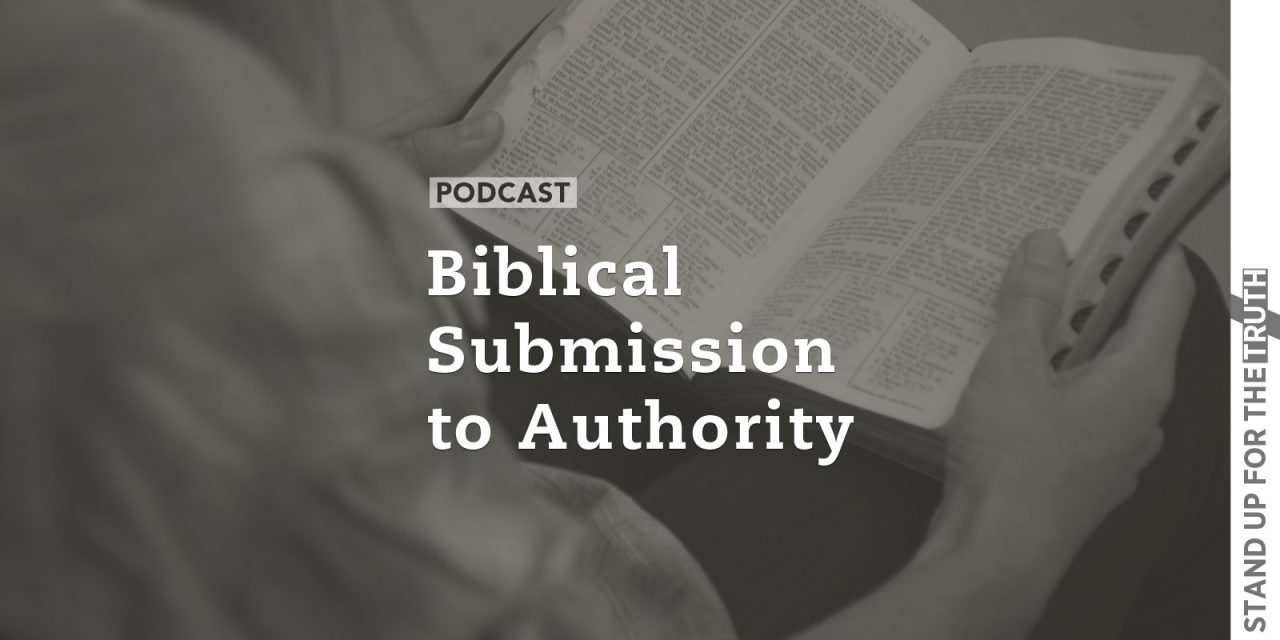 Biblical Submission to Authority