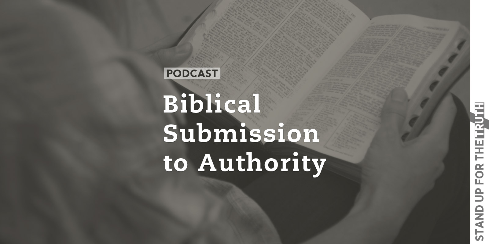 submission to authority Biblical submission is granted to our peers and to those under our authority because submission is not simply a matter of authority but of priority it is not just a question of who has power over us but who has priority over us.