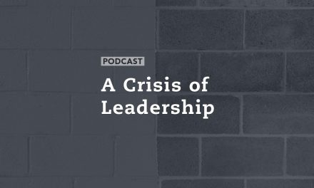 A Crisis of Leadership