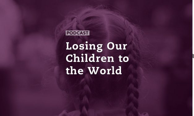 Losing Our Children to the World