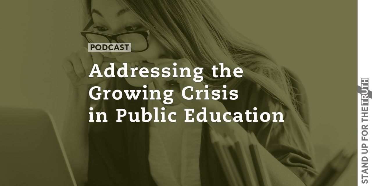 Addressing the Growing Crisis in Public Education
