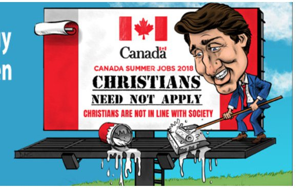 Canada Forces Christians into the Closet