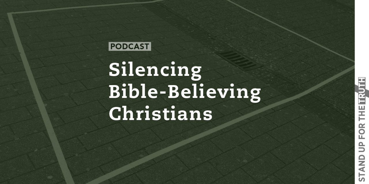 Silencing Bible-Believing Christians