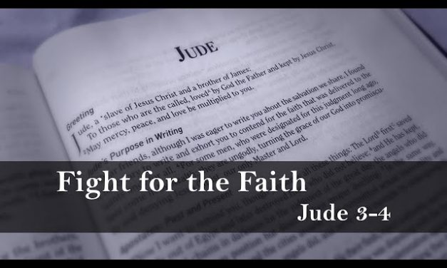 Jude: Contend for the Faith, Expose Apostates, Warn the Church