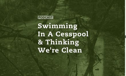 Swimming in a Cesspool & Thinking We're Clean