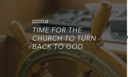 Time for the Church to Turn Back to God