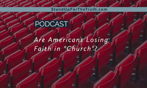 Are Americans Losing Faith in Church?