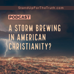 A Storm Brewing in American Christianity?