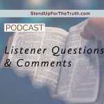 Comments and Questions: No Topic Off Limits!