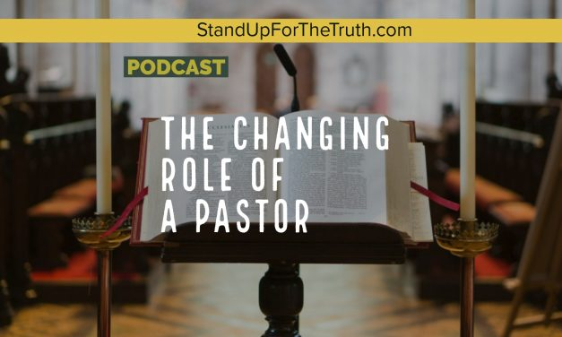 The Changing Role of a Pastor