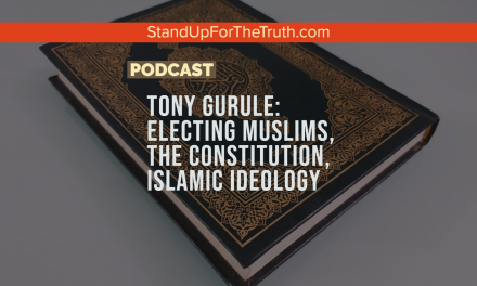 Tony Gurule: Electing Muslims, The Constitution, Islamic Ideology