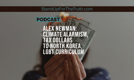 Alex Newman: Climate Alarmism, Tax Dollars to North Korea, LGBT Curriculum