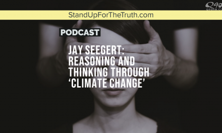Jay Seegert: Reasoning and Thinking Through 'Climate Change'
