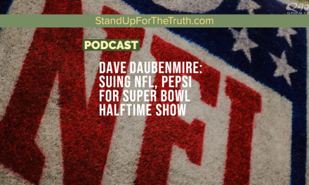 Dave Daubenmire: Suing NFL, Pepsi for Super Bowl Halftime Show