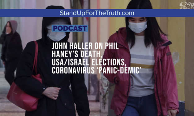 John Haller on Phil Haney's Death, USA/Israel Elections, Coronavirus 'Panic-Demic'