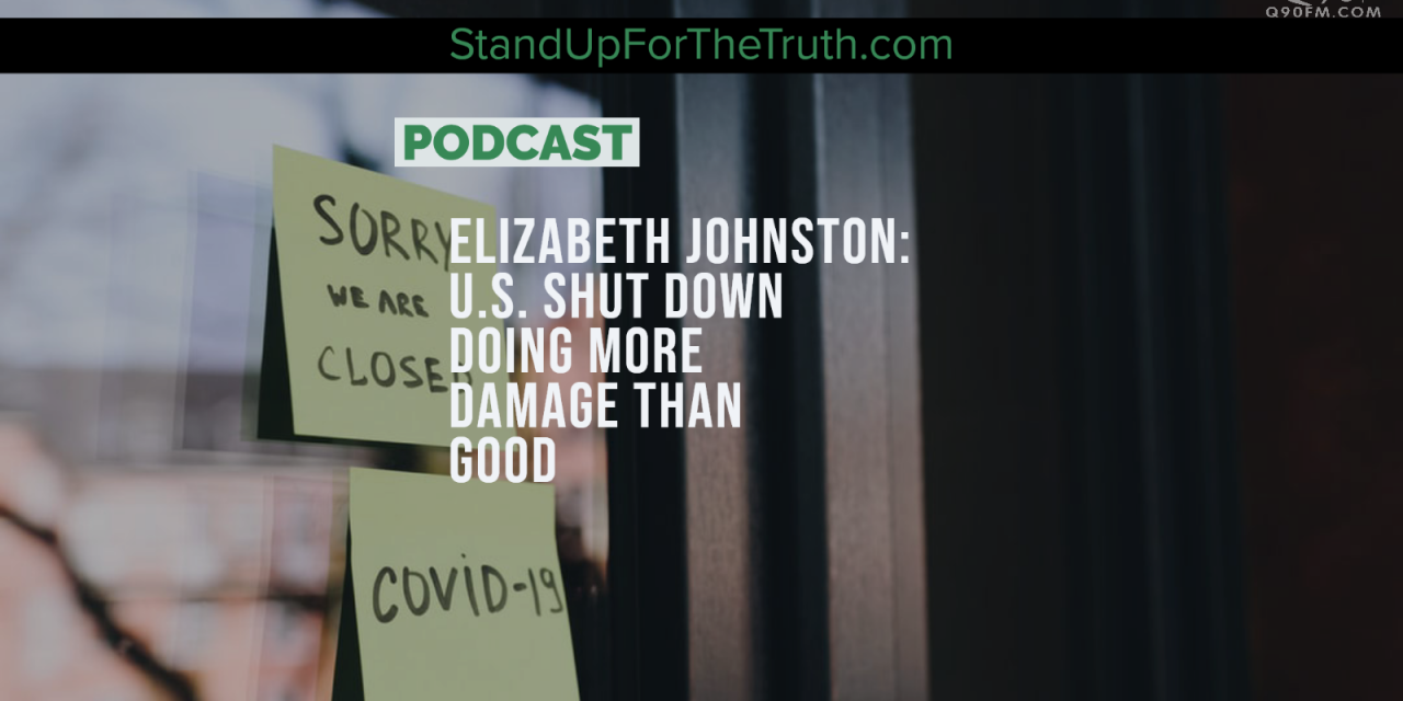Elizabeth Johnston: U.S. Shut Down Doing More Damage Than Good