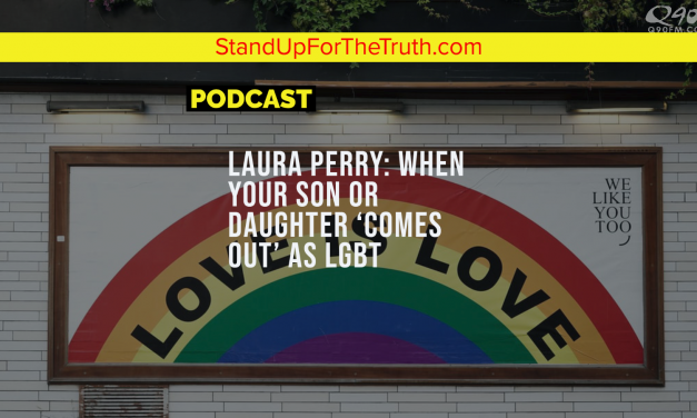 Laura Perry: When Your Son or Daughter 'Comes Out' as LGBT
