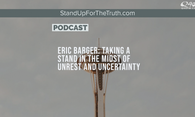 Eric Barger: Taking a Stand in the Midst of Unrest and Uncertainty