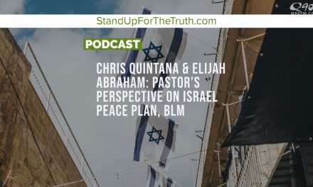 Chris Quintana & Elijah Abraham: Perspective on Covid Fear, Israel Peace Plan