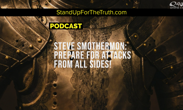 Steve Smothermon: Prepare for Attacks From All Sides!